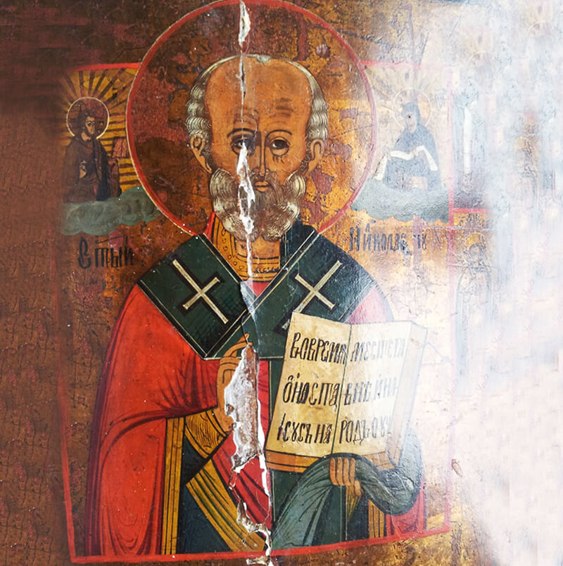 restauro icona